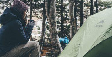 acampar em sc
